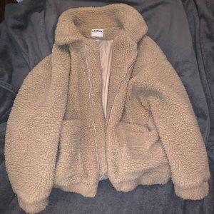 Oversized Teddy Pixie Coat